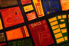 EMOZIONI ROMA Centocelle Acrilico su tela 70 x 140 cm