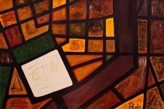 EMOZIONI ROMA Palazzaccio Acrilico su tela 80 x 120 cm