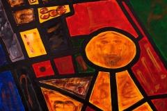EMOZIONI ROMA Piazza del Popolo Acrilico su tela 100 x 150 cm
