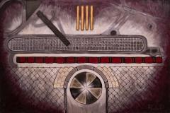 EMOZIONI ROMA Corviale Acrilico su tela 100 x 150 cm