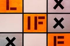 Emozioni LIFE Acrilico su tela 100 x 100 cm