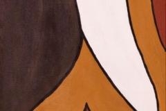 EMOZIONI Insieme Acrilico su tela 2 tele da 40 x 120 cm
